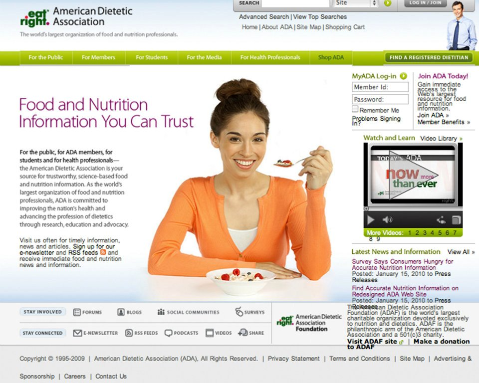 American Dietetics Association